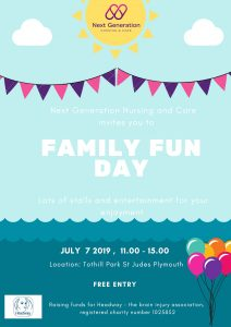 Family fun Day Plymouth poster