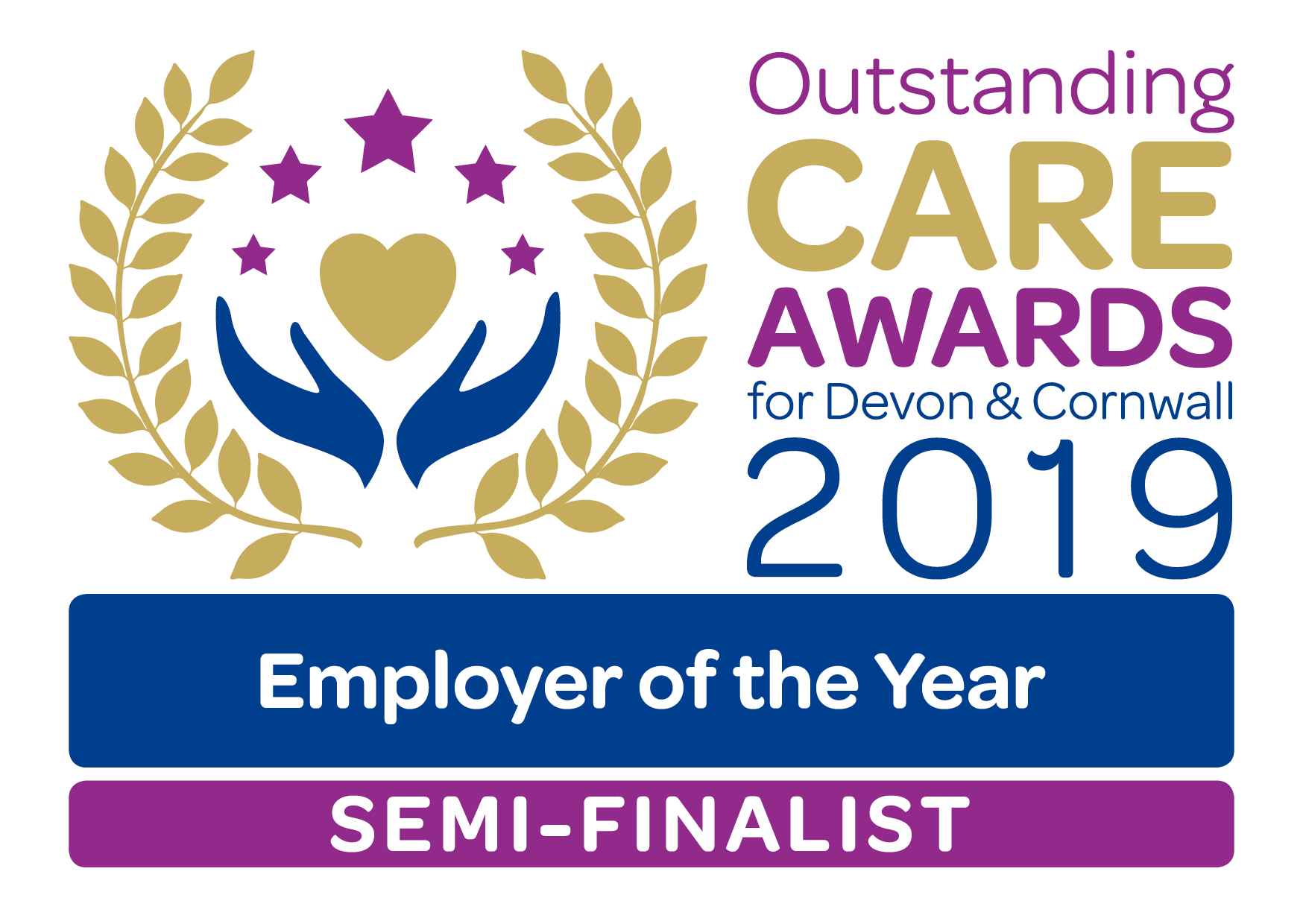 Outstanding Care Awards Supplier of the year and Employer of the Year Semi-finalists 2019