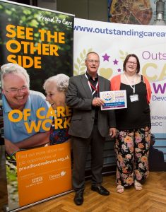Next Generation Staff at the Outstanding Care Awards